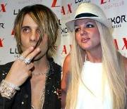Criss Angel y Britney Spears