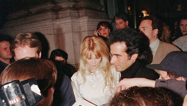 DAVID COPPERFIELD y Claudia Schiffer