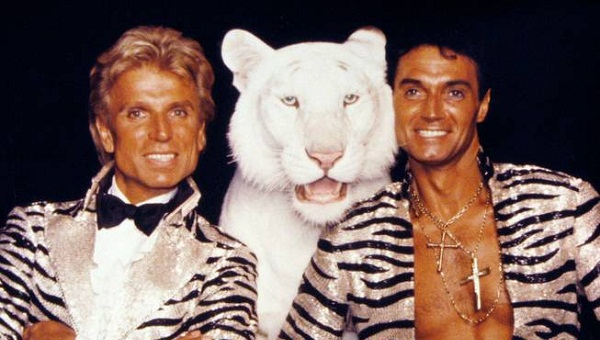 Los magos Siegfried and Roy